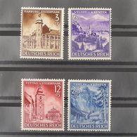 Allemagne, 3ème Reich 1933-1945, N° 730-733, N** Cote 20€ - Allemagne