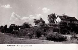 ADA-KALEH ISLAND On DANUBE : CASE PE RUINELE CETATII - CARTE VRAIE PHOTO / REAL PHOTO POSTCARD ~ 1955-'60 (ae515) - Roumanie