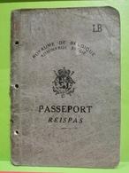 Royaume De Belgique, Passeport, Thiaumont 1948 - Vecchi Documenti
