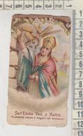 Santini - Image Pieuse Holy Card Fustellato Antico Sant'emidio Vescovo E Martire - Devotion Images