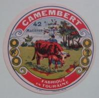 Etiquette Petit Camembert - La Vachère - Fromagerie Anonyme - Touraine    A Voir ! - Fromage