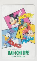 JAPAN -  MICKEY & MINNIE (110-123310) , Used - Disney
