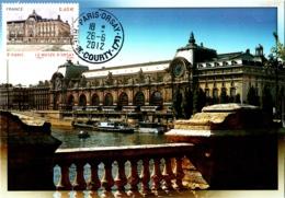 Carte Maximum YT 4678, Le Musée D'Orsay, 85e Congrès De La FFAP 26 06 2012 Paris 75 Parfait état - Cartes-Maximum