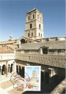 Carte Maximum YT 4644 Basilique De Saint-Trophime à Arles 1er Jour 30 03 2012 Parfait état Les Chemins De Compostelle - Maximum Cards