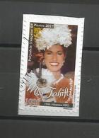 Timbre Du Carnet   Miss Tahiti  2017    (745) - Oblitérés