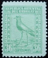 1923 URUGUAY MLH  TERO BIRD AVE 36 C.  Yvert 268 - Uruguay