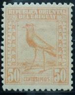 1923 URUGUAY Hinged  TERO BIRD AVE 50 C.  Yvert 269 - Uruguay