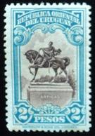 1928 URUGUAY MNH GRAL. ARTIGAS Monument HORSE CABALLO CHEVAL Pferd Yvert 357 - Uruguay