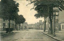 Cpa COMMENTRY 03 Avenue De La Gare - Commentry