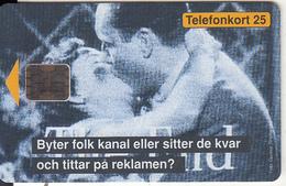 SWEDEN - Kyssen, Media Broker, Chip SC5, CN : 00246, Tirage %3000, 05/93, Mint - Sweden