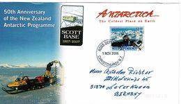Lettre Scott Base 2006 50th Anniversary New Zealand Antarctic Programme - Ross Dependency (New Zealand)