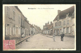 CPA Pontgouin, Rue Du Pont-de-l`Aumone - Zonder Classificatie