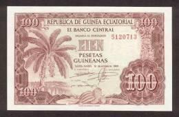 EQUATORIAL GUINEA P.  1 100 P 1969 UNC - Equatorial Guinea