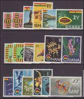 Ghana 1959 Set With Both Type II's Unmounted Mint. - Ghana (1957-...)