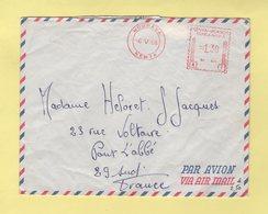Kenya - Mombasa - 1968 - EMA - Destination France Par Avion - Kenya (1963-...)