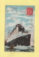 Grande Bretagne - Transatlantic Post Office 5 - 1912 - SS Olympic - Marcophilie