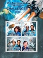 Guinea-Bissau, 2011. [gb11206] Space  - Challenger (s\s+block) - Espacio