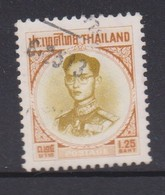Thailand SG 485 1963 King Bhumibol 1 Baht And 25 S Bistre And Brown - Thailand