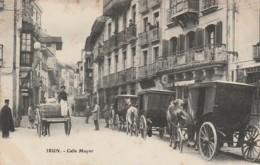 A18- IRUN (ESPAGNE) CALLE MAYOR  - (BELLE ANIMATION - 2 SCANS) - Guipúzcoa (San Sebastián)