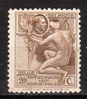 189**  Timbre Pour Les Invalides De Guerre - Bonne Valeur - MNH** - COB 3 - Vendu à 12.50% Du COB!!!! - Unused Stamps
