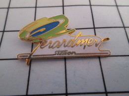 716b Pin's Pins / Beau Et Rare / THEME : VILLES / GERARDMER STATION VOSGES - Villes