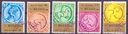 JO Mexico 1968 Pabay - Grande Bretagne Y&T N°(1 à 5) - Michel N°(?) (o) - Ete 1968: Mexico