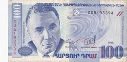 Arménie - Billet De 100 Drams - 1998 - Armenien