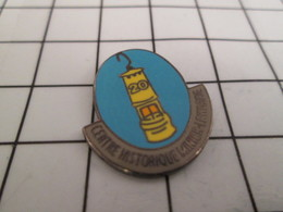 816b Pin's Pins / Beau Et Rare / THEME : AUTRES / LAMPE DE MINEUR CENTRE HISTORIQUE MINIER DE LORRAINE - Pin's & Anstecknadeln