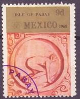 JO Mexico 1968 Pabay - Grande Bretagne Y&T N°(2) - Michel N°(?) (o) - 9d Course De Vitesse - Ete 1968: Mexico