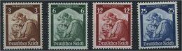 DEUTSCHES REICH 1935, Nr. 555-558 Postfrisch (96591) - Ohne Zuordnung