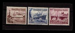 DEUTSCHES REICH 1937 Nr 657-659 Siehe Beschreibung (402188) - Ohne Zuordnung