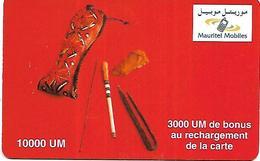 @+ Mauritanie - 1000UM - Mauritel - Outils (sans Code) - Mauritania