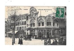 CPA   75 Paris L'Elysée Montmartre 1912 - Distrito: 18