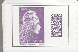 FRANCE 2018 MARIANNE L ENGAGEE ADHESIF MONDE NEUF YT 1656 - Frankreich
