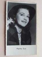MARTHA DUA ( Thill > Foto Jan Vanderheyden ) Anno 19?? ( Zie Foto Details ) ! - Artiesten