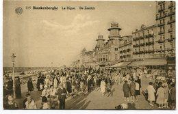 CPA - Carte Postale - Belgique -Blankenberghe - La Digue (SVM12009) - Blankenberge