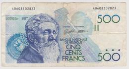 Belgique - Billet De 500 Francs - Constantin Meunier - Non Daté - P143 - [ 2] 1831-... : Reino De Bélgica