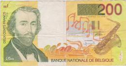 Belgique - Billet De 200 Francs - Adollphe Sax - Non Daté - Autres