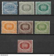 San Marino 1892, Incomplete Set - Nuovi