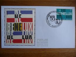 (3) BELGIE FDC BENELUX STEMPEL BAARLE-HERTOG SEE SCAN. - 1971-80