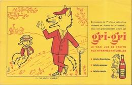 Buvard Gri Gri Le Loup Et L'Agneau - Alimentaire