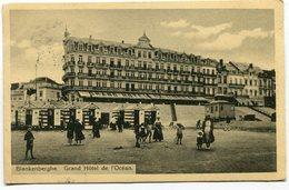 CPA - Carte Postale - Belgique - Blankenberghe - Grand Hôtel De L'Océan  (SVM12011) - Blankenberge