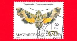 UNGHERIA - Usato - 2011 - Farfalla - Butterfly - Papillon - (Proserpinus Proserpina) - 370 Ft - Ungarn