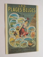 Le LITTORAL BELGE ( 1900 ) Carte Postale / Postkaart ( AVM ) Anno 19?? ( Zie Foto Details ) ! - Posters