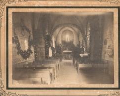 Photo Photographie Dossainville Intérieur De L'Eglise Cesarville 45 Loiret Malesherbes E Daroy - Lieux