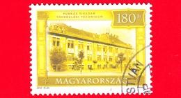 UNGHERIA - Usato - 2012 - Turismo - Scuola Tecnica Di Telecomunicazione Puskás Tivadar - 180 Ft - Ungarn