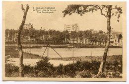 CPA - Carte Postale - Belgique - Blankenberghe - Le Parc - Jeu De Tennis - 1922 (SVM12012) - Blankenberge