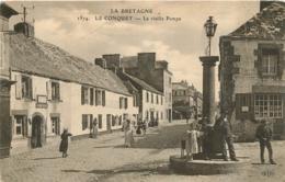 LE CONQUET LA VIEILLE POMPE - Le Conquet