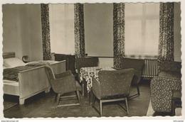 AK  Schwarzenberg HOG Wismut Hotel Haus Der Einheit Hotel Zimmer - Schwarzenberg (Erzgeb.)