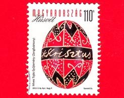UNGHERIA - Usato - 2013 - Pasqua - Easter - Uova - Scritta 'Krisztus' - 110  Ft - Ungarn